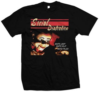 "Social Distortion ""White Light Icon"" T Shirt"