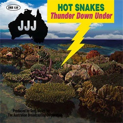 "Hot Snakes ""Thunder Down Under"" CD"