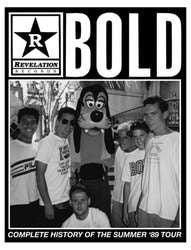 "Bold ""Complete History Of The Summer '89 Tour"" Fanzine"