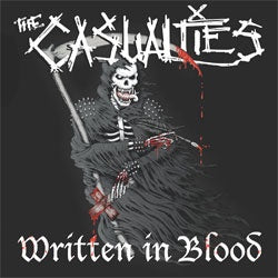 "Casualties ""Written In Blood"" LP"