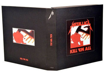 "Metallica ""Kill 'Em All"" 4xLP Deluxe Box Set"