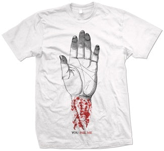 "Converge ""You Fail Me"" White T Shirt"