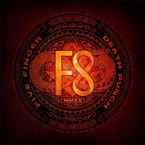 "Five Finger Death Punch ""F8"" 2xLP"