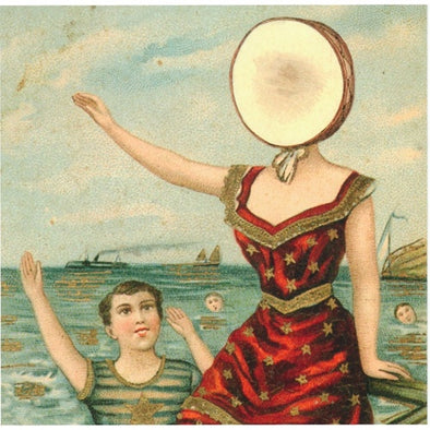 "Neutral Milk Hotel ""In the Aeroplane Over the Sea"" LP"