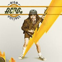 "AC/DC ""High Voltage"" LP"