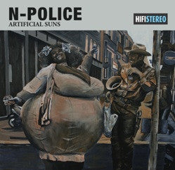 "N-Police ""Artificial Suns"" CD"