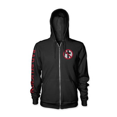"Bad Religion ""Crossbuster"" Zip Hood"