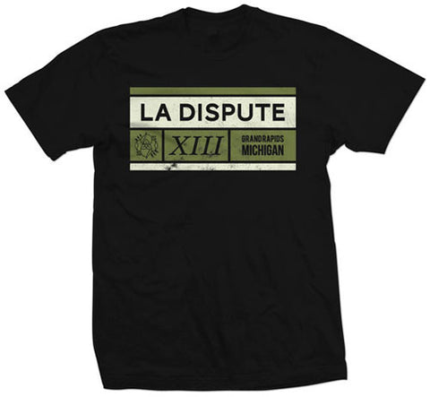 "La Dispute ""Black Grid"" T Shirt"