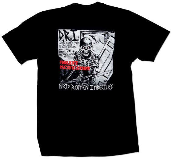 "DRI ""Violent Pacification"" T Shirt"
