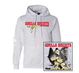 "Gorilla Biscuits ""Hold Your Ground"" Hooded Sweatshirt"