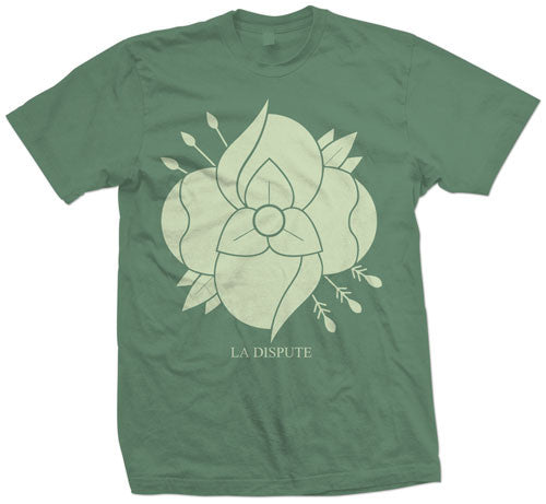 "La Dispute ""Green Flower"" T Shirt"