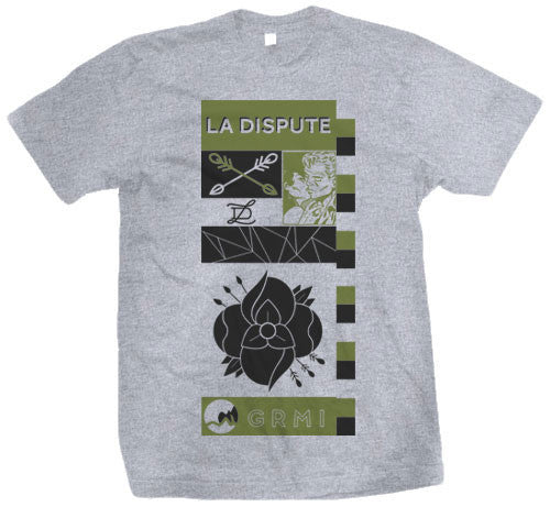 "La Dispute ""Grey Grid"" T Shirt"