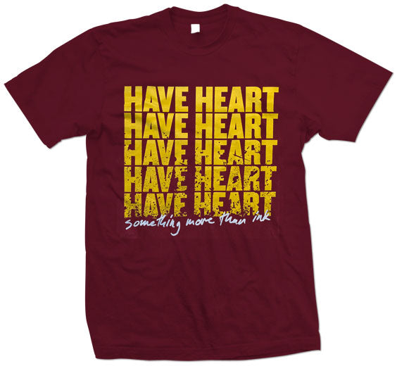 "Have Heart ""Something More Than Ink"" T Shirt"