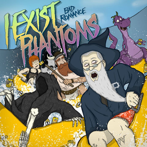 "I Exist / Phantoms ""Bad Romance"" 7"""