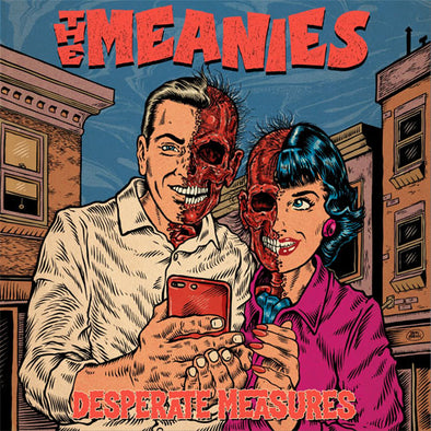 "The Meanies ""Desperate Measures"" CD"