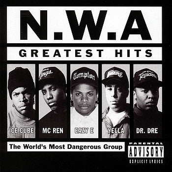 "N.W.A ""Greatest Hits"" 2xLP"