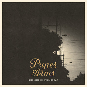 "Paper Arms  ""The Smoke Will Clear"" CD"