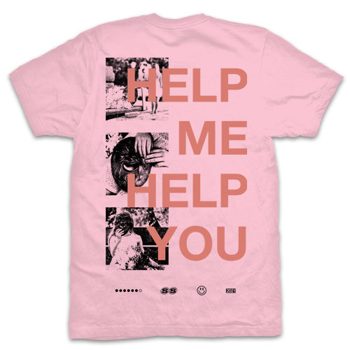 "Stepson ""Help Me, Help You Pink"" T Shirt"