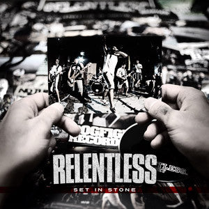"Relentless ""Set In Stone"" CD"