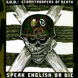 "S.O.D ""Speak English Or Die"" LP"
