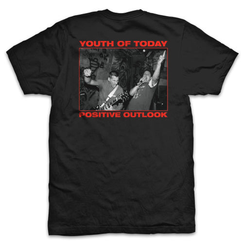 "Youth Of Today ""Positive Outlook"" T Shirt"