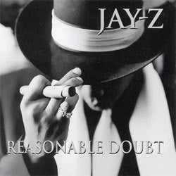 "Jay Z ""Reasonable Doubt"" 2xLP"