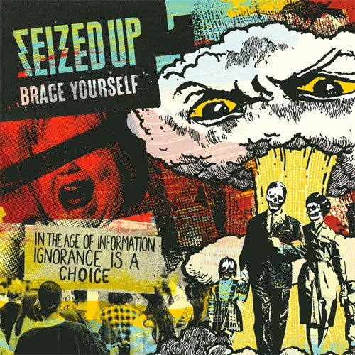 "Seized Up ""Brace Yourself"" LP"