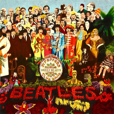 "The Beatles ""Sgt Pepper's Lonely Hearts Club Band"" LP"