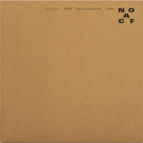 "The 1975 ""Notes On A Conditional Form"" 2xLP"