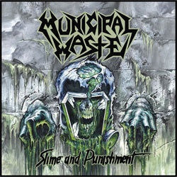 "Municipal Waste ""Slime And Punishment"" CD"