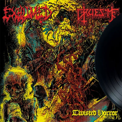 "Exhumed / Gruesome ""Twisted Horror"" 10"""