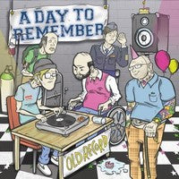 "A Day To Remember ""Old Record"" CD"