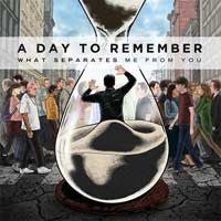 "A Day To Remember ""What Separates Me From You"" CD"