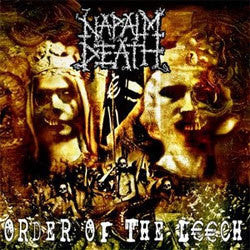 "Napalm Death ""Order Of The Leech"" LP"