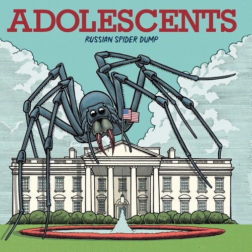 "Adolescents ""Russian Spider Dump"" CD"