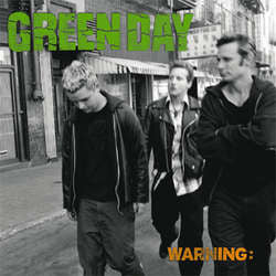 "Green Day ""Warning"" LP"