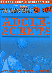 "Adolescents ""Live At The House Of Blues"" DVD"