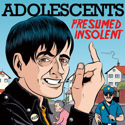 "Adolescents ""Presumed Insolent"" LP"