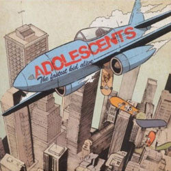 "Adolescents ""The Fastest Kid Alive"" LP"