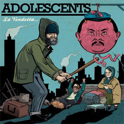 "Adolescents ""La Vendetta"" CD"
