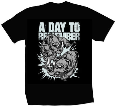 "A Day to Remember ""Rhino"" T Shirt"