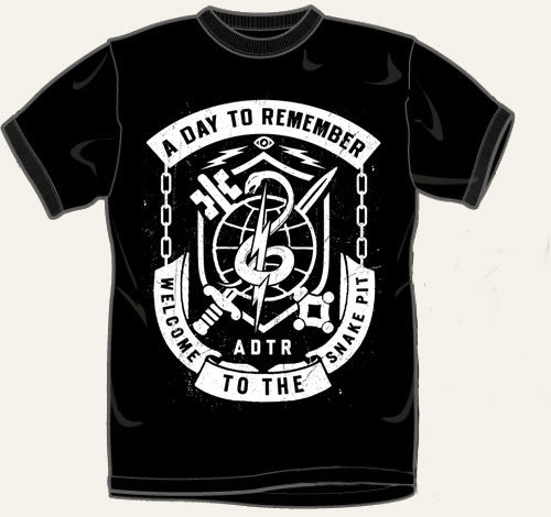 "A Day To Remember ""Snakepit"" Tshirt"