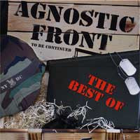 "Agnostic Front ""To Be Continued"" CD"