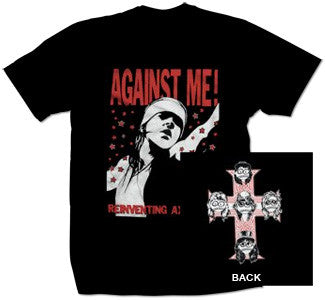 "Against Me! ""Reinventing Axl Rose"" T Shirt"