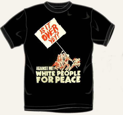 Against Me! White People T Shirt