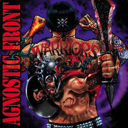 "Agnostic Front ""Warriors"" CD"