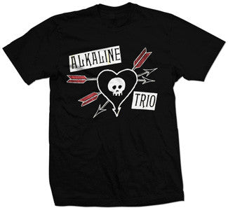 "Alkaline Trio ""Arrows"" T Shirt"