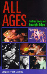 "All Ages ""Reflection On Straight Edge"" Book"