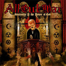 "All Out War ""Assasins In The House Of God"" CD"