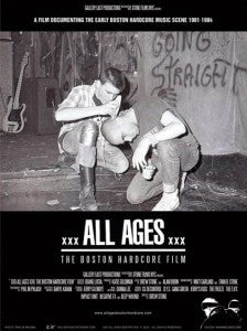 All Ages: Boston Hardcore DVD